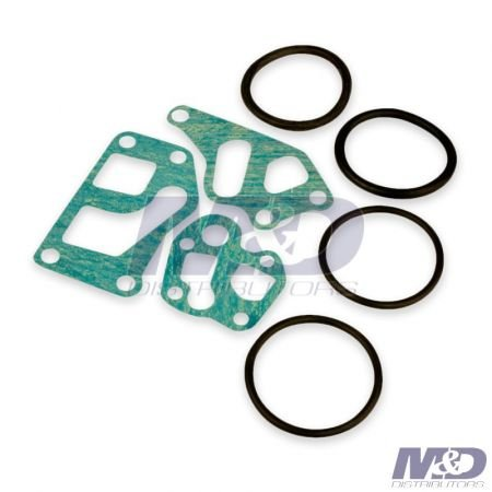DCS GASKET KIT 6.9L & 7.3L OIL COOLER MTG LATE STYLE FORD