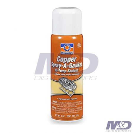 Permatex 12 oz. Copper Spray-A-Gasket Hi-Temp Adhesive Sealant