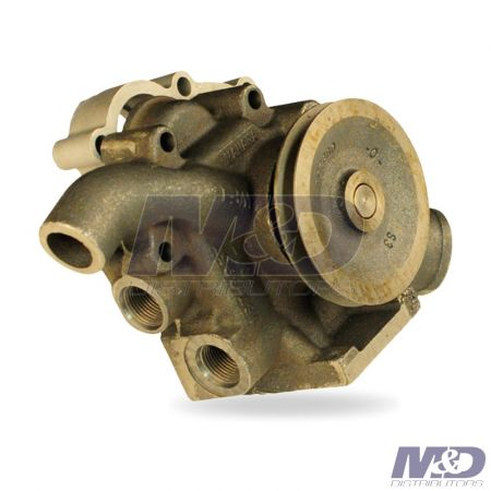 "Bepco WATER PUMP REMAN CAT 3116 3126 4.37"" PULLY"
