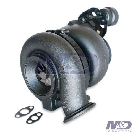 M&D Distributors Remanufactured High Pressure, Mid-Mount Turbocharger