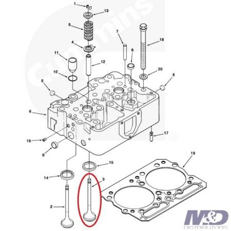 Cummins Exhaust Valve Kit