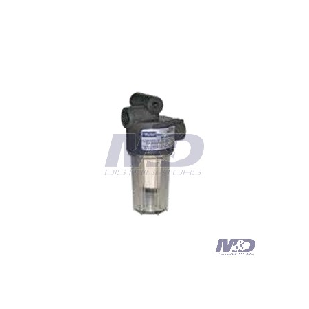 Parker Racor 10 Micron In-Line Gasoline Filter