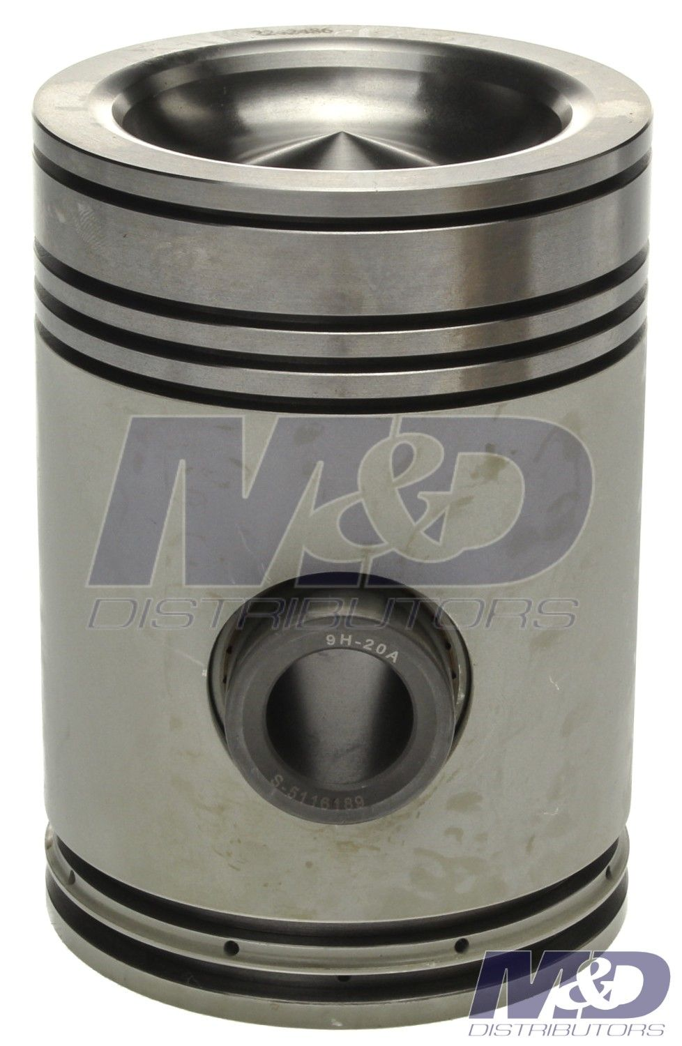 Mahle Original Piston Detroit 53 Series 3 875 Bore Trunk