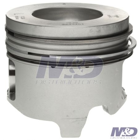 "Mahle Original 0.010"" Left Bank Piston with Rings"