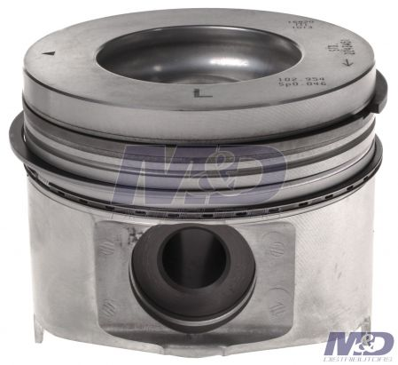 Mahle Original Standard Left Bank Piston with Rings