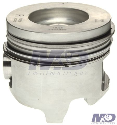 Mahle Original 0.010 in. Right Bank Piston with Rings