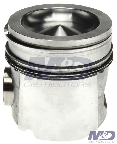 Mahle Original 0.040 in. Piston with Rings, Pin, & Retainer Rings
