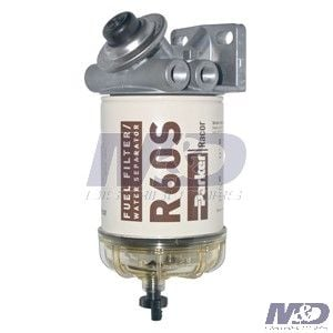 2 Micron 460 Series Fuel Filter Assembly 460R2 | M&D | Spin On Fuel Filter Housing |  | M&D Distributors