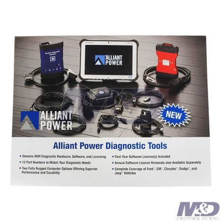 Alliant Power Diagnostic Tools Flier