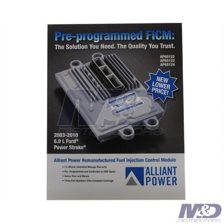 Alliant Power 2003 - 2010 Ford 6.0L Power Stroke Pre-Programed FICM Flier