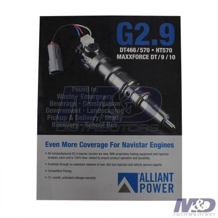 Alliant Power G 2.8 Injector Program Enhacement Fliers
