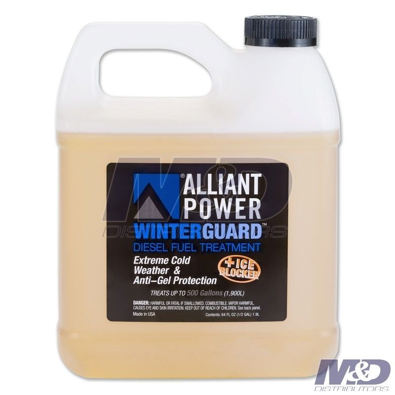 Alliant Power 64 Ounce Winterguard Fuel Treatment Additive