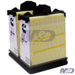 Fleetguard Primary Dual Flow Air Filter