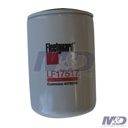 Fleetguard 2015 - 2017 Nissan 5.0L Cummins TurboDiesel Oil / Lube Filter