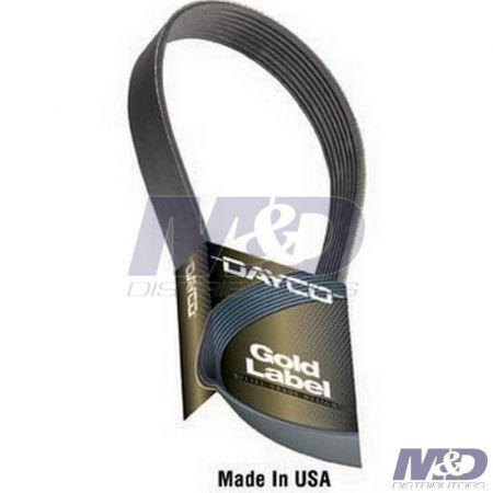Dayco POLY RIB GOLD LABEL BELT 6.4L POWER STROKE DUAL ALT.