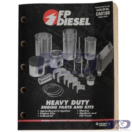 Federal Mogul CATALOG FEDERAL MOGUL HEAVY DUTY ENGINE PARTS & KITS 2010
