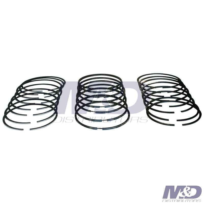 Mahle Original Standard 8 Cylinder Piston Ring Set