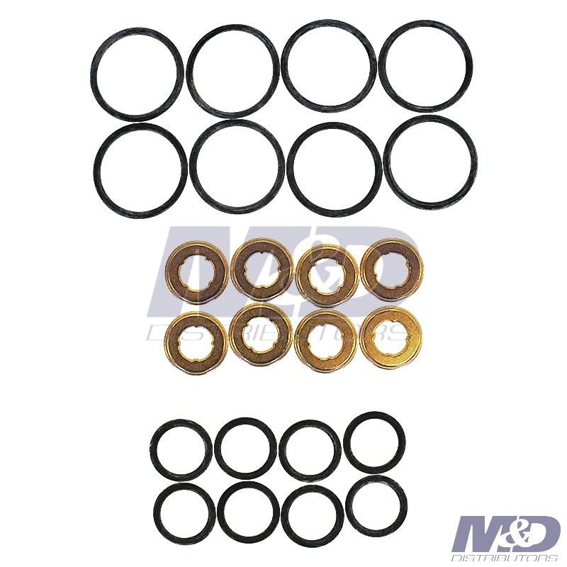 6 6l Duramax Fuel Injector External O Ring Kit Gs33578a