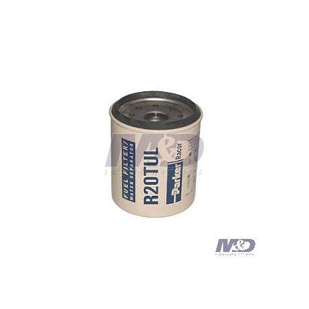 Parker Racor 10 Micron, 230RMAM-Series Spin-On Fuel Filter Element
