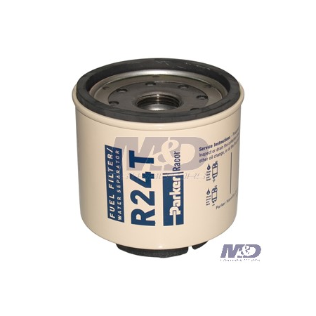 Parker Racor 10 Micron, 220R-Series Spin-On Fuel Filter Element