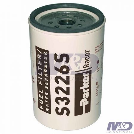 Parker Racor 2 Micron, 330R2-Series Spin-On Fuel Filter Element