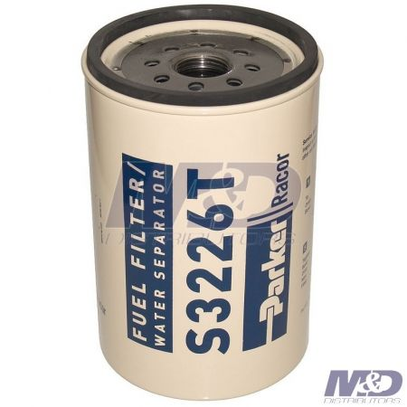 Parker Racor 10 Micron, 330R10-Series Spin-On Fuel Filter Element
