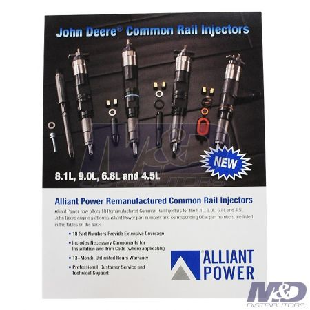Alliant Power Common Rail & Injector Literature