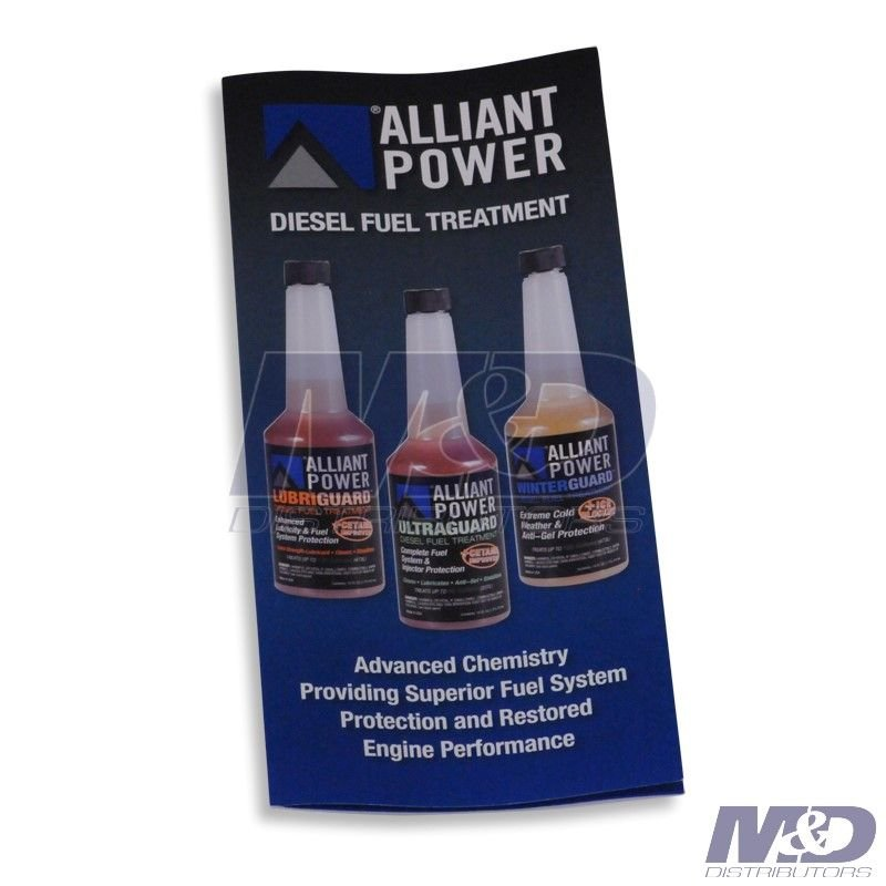 Alliant Power Diesel Fuel Treatment Brochure