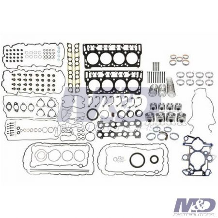 Mahle Original Inframe Overhaul Kit with Head Bolts
