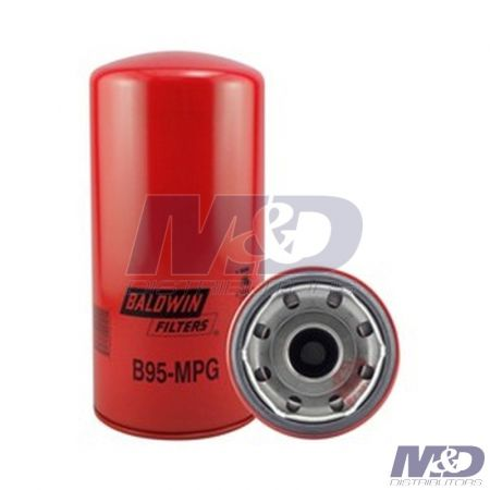 Baldwin Maximum Performance Glass Spin-On Oil / Lube Filter