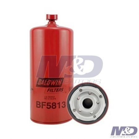 Baldwin Primary Fuel Filter / Water Separator with Drain