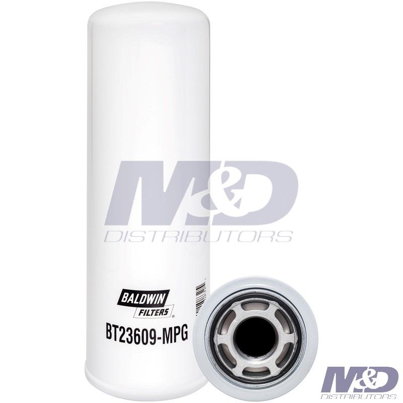 Baldwin HYDRAULIC FILTER MAXIMUM PERFORMANCE GLASS SPIN-ON