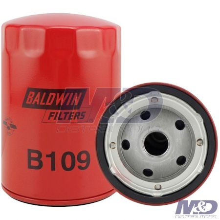Baldwin OIL FILTER SPIN ON CATERPILLAR KOBELCO GMC & ISUZU