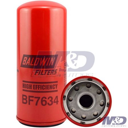 Baldwin High Efficiency Spin-On Fuel Filter