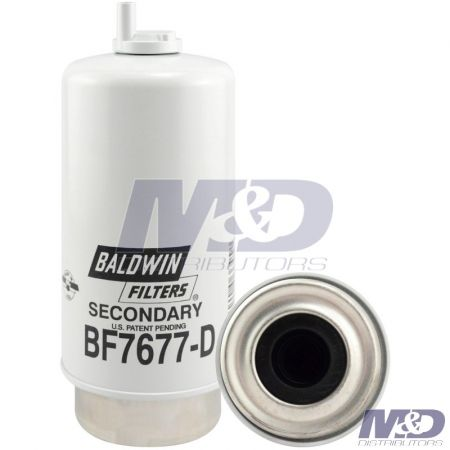 Baldwin Secondary Fuel Filter / Water Separator with Drain