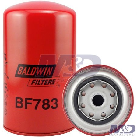 Baldwin Secondary Spin-On Fuel Filter