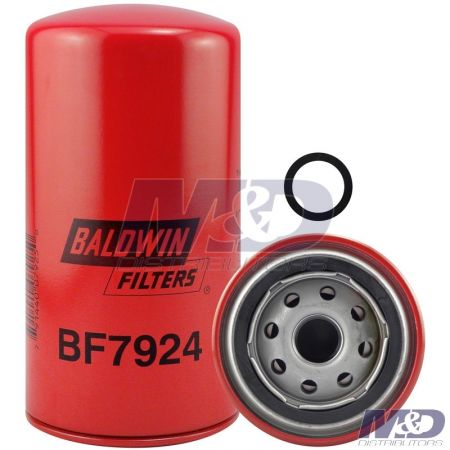 Baldwin Freightliner, Kenworth, Peterbilt, Cummins ISC Spin-On Fuel Filter