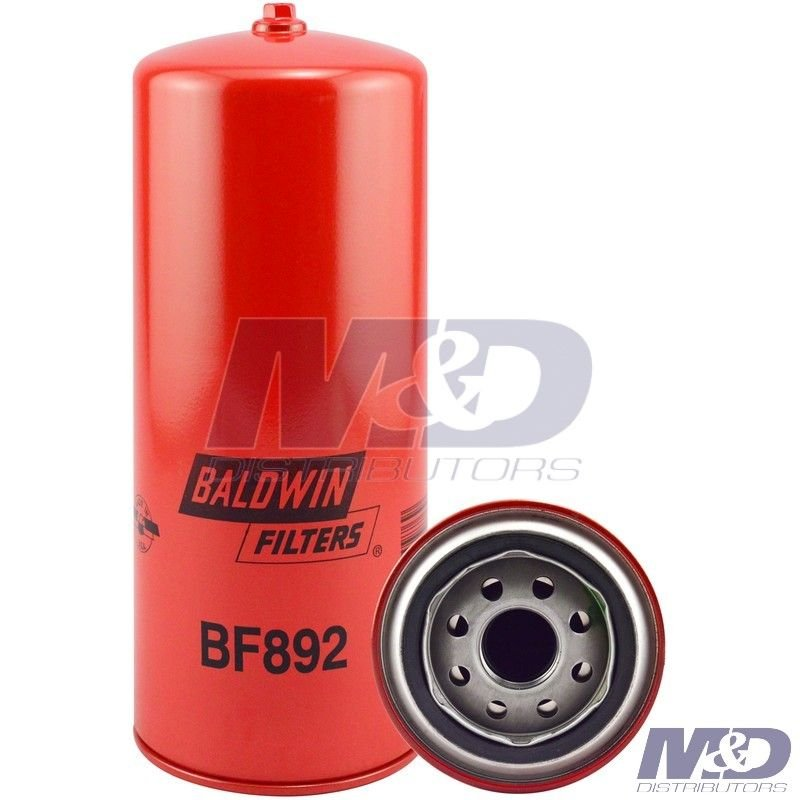 Fuel Filter Spin-ON Element Qty 2 AFE BF988 Baldwin Direct Replacement