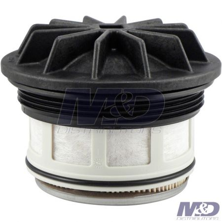 Baldwin 1999 - 2003 Ford 7.3L Power Stroke Fuel Filter Element with Lid