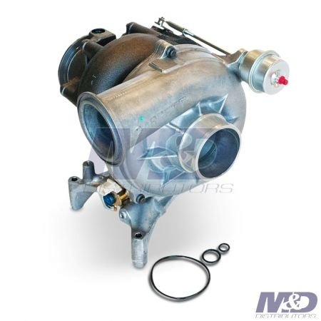 Garrett New Turbocharger with Pedestal