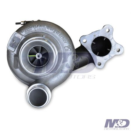 Borg Warner Turbo Systems New Low Pressure Turbocharger
