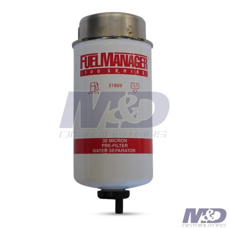 CLARCOR 30 Micron Fuel Filter / Water Separator