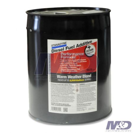 CLARCOR PERFORMANCE FORMULA 5gal WARM WEATHER BLEND TREATS 2500 GAL