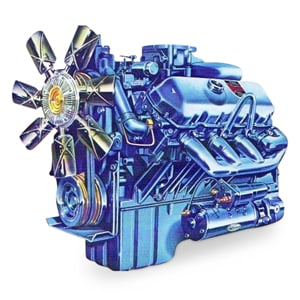 This is the category Engine - Detroit Diesel - 8.2L Engines (Fuel Pincher). This image leads to a webpage with parts specific to those engines.