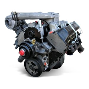 The category 6.5L Engines contains parts for GM.This image leads to a webpage with only GM 6.5L Engines.